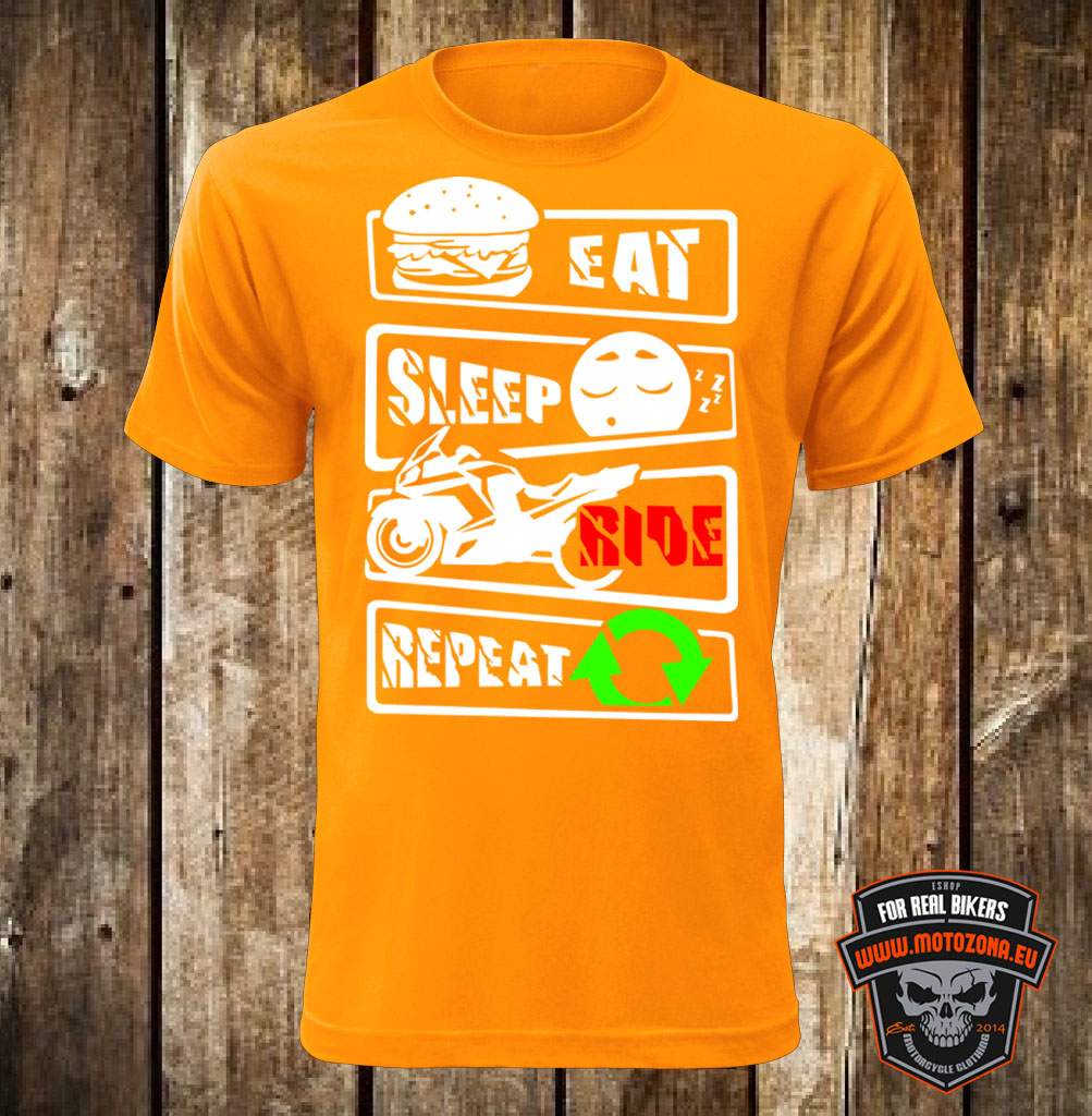 Mototričko Eat Sleep Ride Repeat